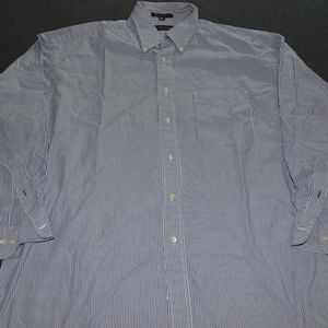 Men's Striped Dress Shirt by Tommy Hilfiger